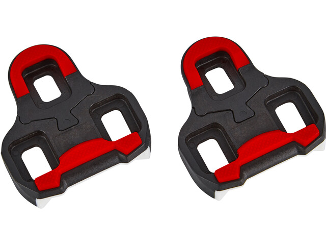 Red Cycling Products PRO Memory Cleats 9° rød/sort (2019) | Pedal cleats